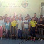 »Επίσκεψη της Α' Τάξης του τμήματος Τεχνιτών Υποστήριξης Συστημάτων Η/Υ της ΕΠΑ.Σ Μαθητείας του ΟΑΕΔ Κατερίνης στη Διασωστική Ομάδα Πιερίας»