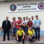 Επίσκεψη της Α' Τάξης του τμήματος Τεχνιτών Ηλεκτρολογικών Εργασιών της ΕΠΑ.Σ Μαθητείας του ΟΑΕΔ Κατερίνης στη Διασωστική Ομάδα Πιερίας