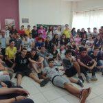 Παρουσίαση Α΄ Βοηθειών από τη Διασωστική Ομάδα Πιερίας και το τμήμα Σαμαρειτών του Ε.Ε.Σ. στο 6ο Γυμνάσιο Κατερίνης