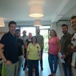 """Παρουσίαση Α΄ Βοηθειών από τη Διασωστική Ομάδα Πιερίας στην εταιρεία """"Service Desk"""""""