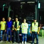 Ευχαριστήριο προς τους πολίτες της Πιερίας από τη Διασωστική Ομάδα Πιερίας και τη ΛΕΦΕΔ Πιερίας για τη συλλογή υλικού προς τους πυρόπληκτους της Αττικής