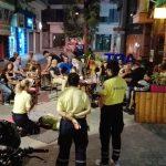 Παρουσίαση Α΄ Βοηθειών και Αφαίρεσης Κράνους σε μοτοσυκλετιστές από τη Διασωστική Ομάδα Πιερίας στο Art caffe