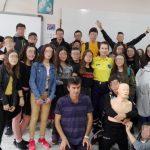 Εκπαίδευση πάνω στις  Α΄ Βοήθειες από τη Διασωστική Ομάδα Πιερίας στο Γυμνάσιο της Κάτω Μηλιάς