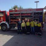 Μαθήματα Δασοπυρόσβεσης και Δασοπροστασίας από την Πυροσβεστική Υπηρεσία Κατερίνης για τη Διασωστική Ομάδα Πιερίας και το τμήμα Σαμαρειτών του Ε.Ε.Σ.