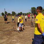 Η Διασωστική Ομάδα Πιερίας στους Αγώνες Τοξοβολίας στη Ν. Χράνη