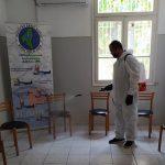 Απολύμανση των εγκαταστάσεων της Διασωστικής Ομάδας Πιερίας