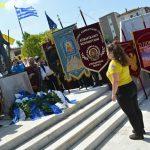 Κατάθεση στεφάνου από τη Διασωστική Ομάδα Πιερίας για την Επέτειο μνήμης της Γενοκτονίας των Ελλήνων του Πόντου