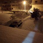 Χιονοπτώσεις στον νομό Πιερίας