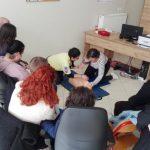Παρουσίαση Α΄ Βοηθειών από τη Διασωστική Ομάδα Πιερίας στους πολίτες του Δήμου Αιγινίου