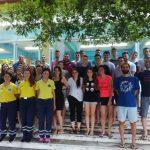 Παρουσίαση Α΄ Βοηθειών από τη Διασωστική Ομάδα Πιερίας στην κατασκήνωση της Ελληνικής Ευαγγελικής Εκκλησίας Κατερίνης στη Λεπτοκαρυά Πιερίας